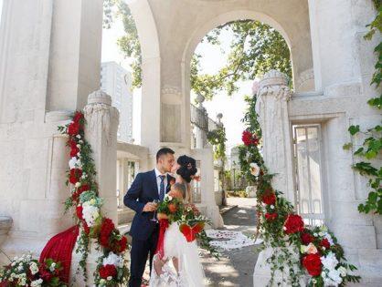 Символическая свадьба  в Вене