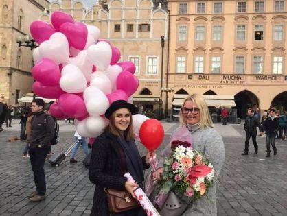 Помолвка в Праге